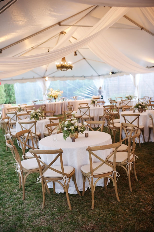 Tent wedding - Justin Wright Photography
