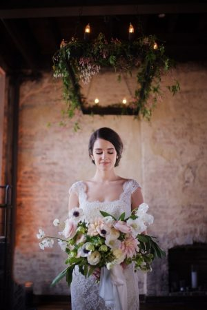 Pastels wedding bouquet - Justin Wright Photography