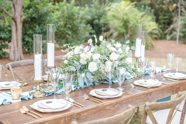 Rustic wedding table-scape ideas - Anna Holcombe Photography