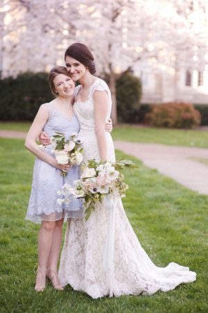 Short bridesmaid dress - Justin Wright Photography