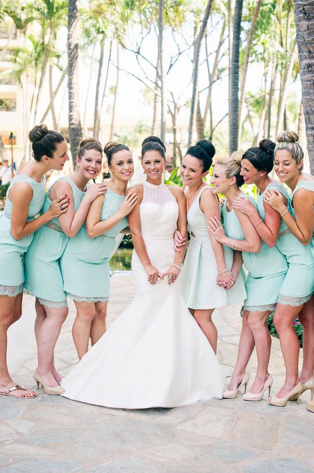 Short bridesmaid dresses - Jenna Leigh Wedding Photography