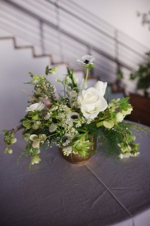 Small wedding centerpiece - Justin Wright Photography