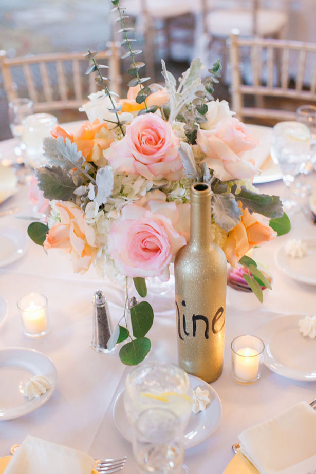 Spring wedding centerpiece ideas - Clane Gessel Photography