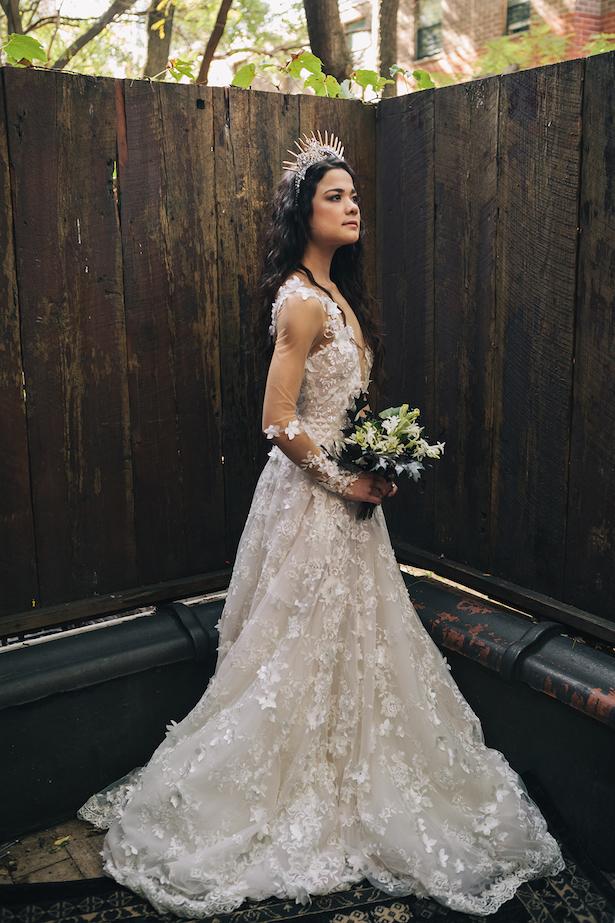Stylish bridal photo -Erika Layne Photography