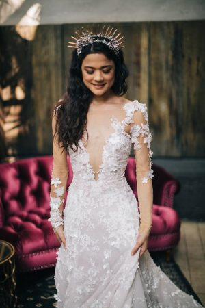 Stylish bride -Erika Layne Photography