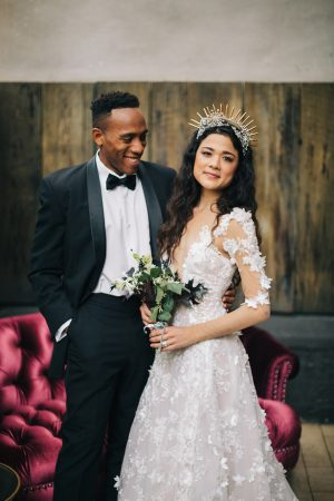 Stylish bride and groom picture - Erika Layne Photography
