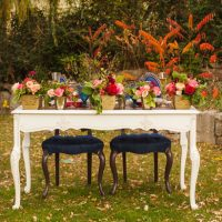 Sweet heart wedding table - Cimbalik Photography