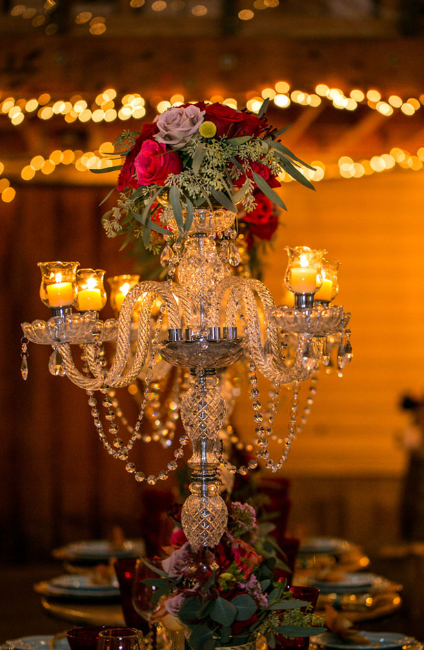 Tall wedding centerpiece - Aida Malik Photography
