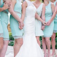 Turquoise bridesmaid dresses - Jenna Leigh Wedding Photography