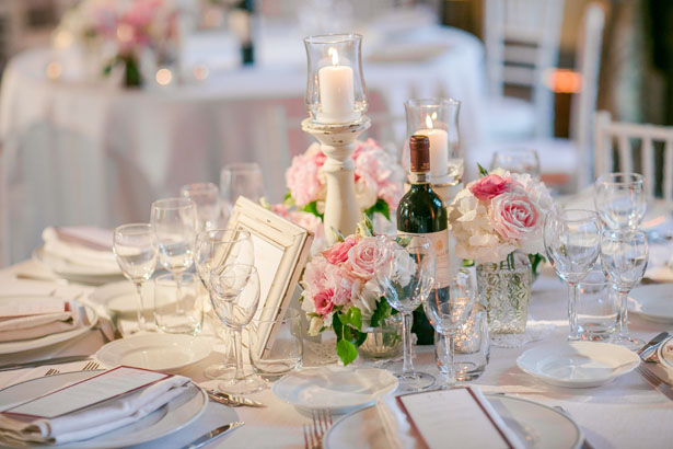 Vintage wedding table-scape - David Bastianoni