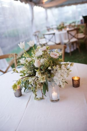 Weddding centerpiece ideas - Justin Wright Photography