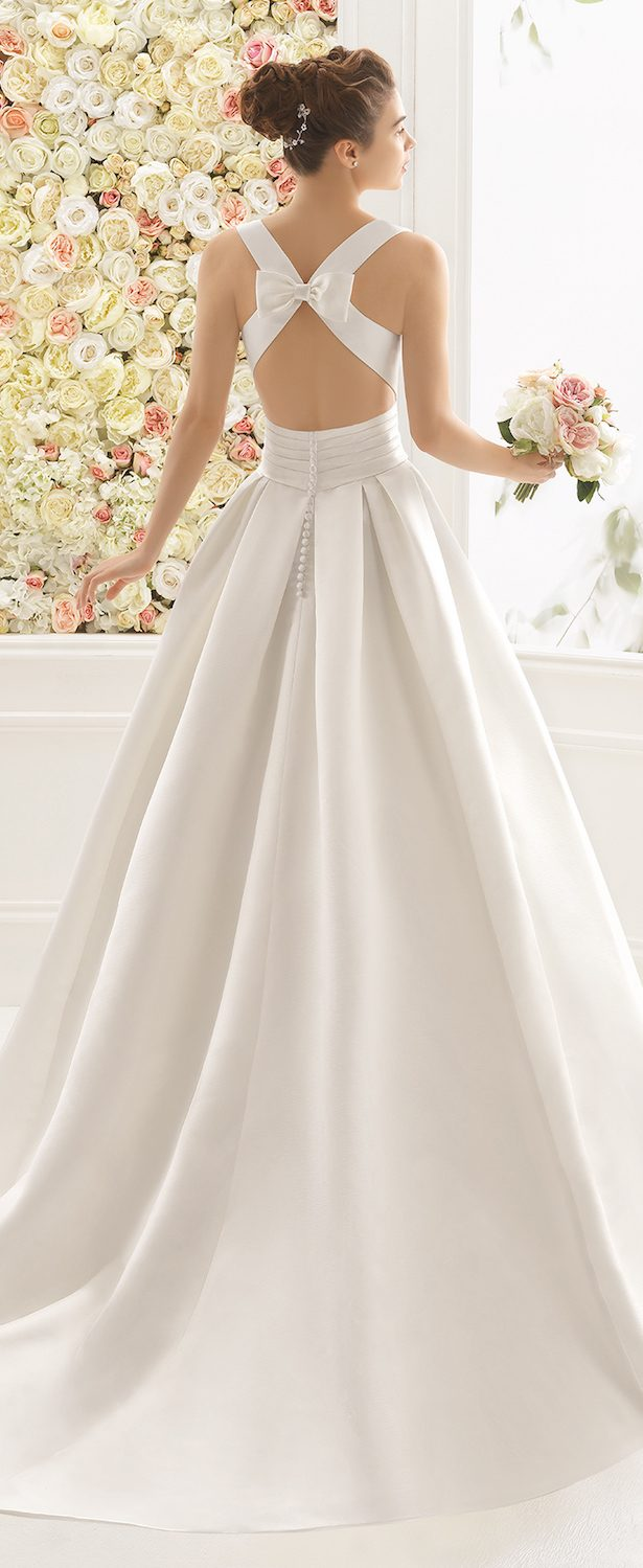 Best Wedding Dresses of 2017 - Wedding Dress by Aire Barcelona 2017 Bridal Collection
