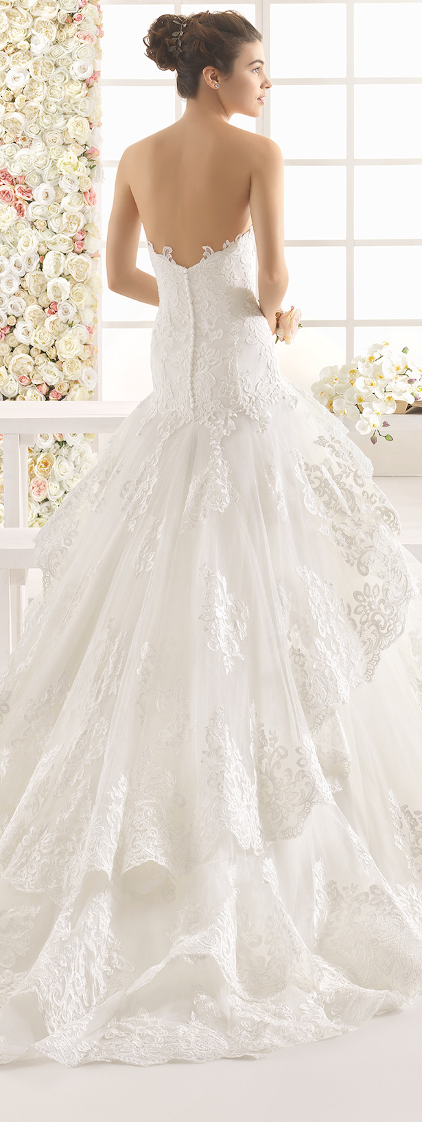 Wedding Gowns with Bows On Back