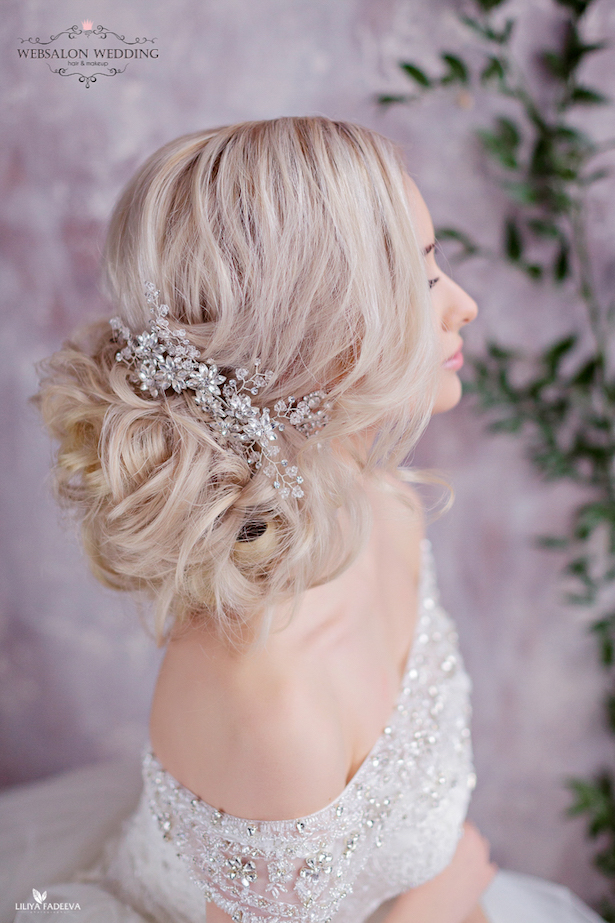 Wedding Hairstyle - via Websalon