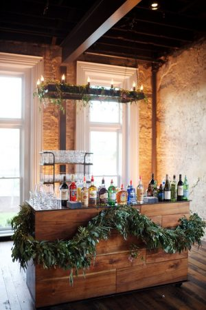Wedding bar - Justin Wright Photography