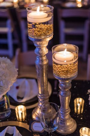 Wedding candle sticks - Rita Wortham photography