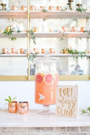 Wedding drink - Anna Holcombe Photography