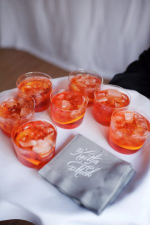 Wedding drinks - Justin Wright Photography