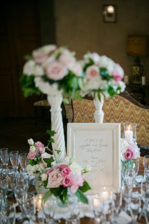 Wedding escort card table - David Bastianoni
