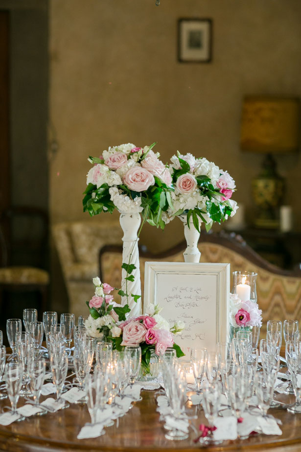 Wedding escort cards table - David Bastianoni