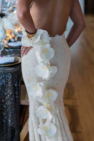 Wedding floral details - Rita Wortham photography