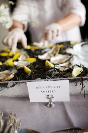 Wedding food - Justin Wright Photography
