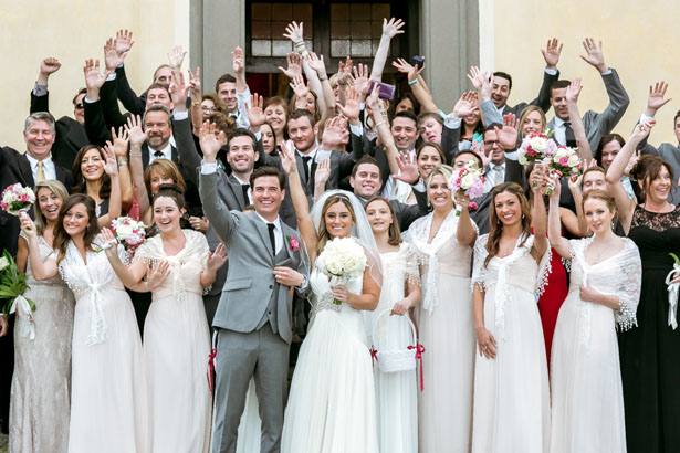Wedding group picture - David Bastianoni