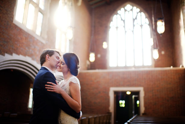 Wedding kiss - Justin Wright Photography