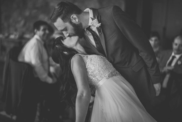 Wedding kiss - Sam Hurd Photography