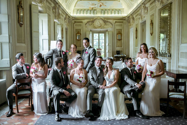 Wedding party picture - David Bastianoni