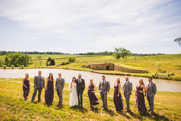 Wedding party picture - Sam Hurd Photography