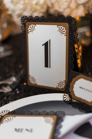 Wedding table number - Rita Wortham photography