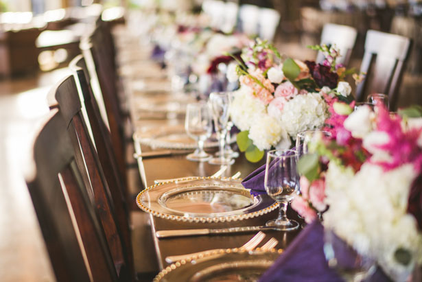 Wedding table-scape - Sam Hurd Photography