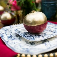 Blue and white wedding china - Cimbalik Photography