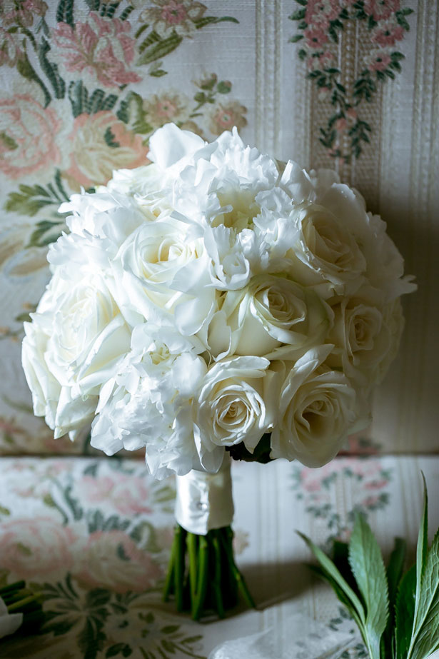 White wedding bouquet - David Bastianoni