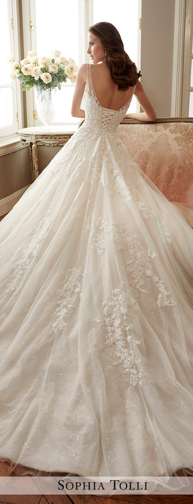 Wedding Dress by Sophia Tolli 2017