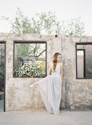 Ballet inspired bride - Ashley Rae Photography