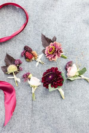 Beautiful wedding boutonnieres - LLC Heather Mayer Photographers