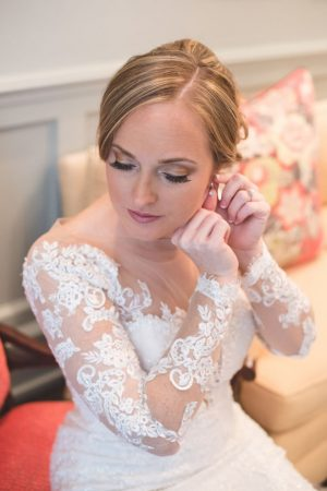 Bride getting rady photos - Corner House Photography