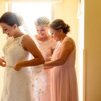Bride getting ready - Katie Whitcomb Photographers