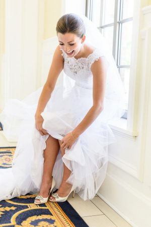 Bride getting ready picture - Katie Whitcomb Photographers