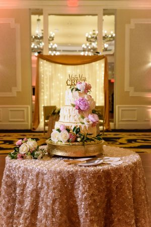 Gorgeous wedding cake table- Katie Whitcomb Photographers
