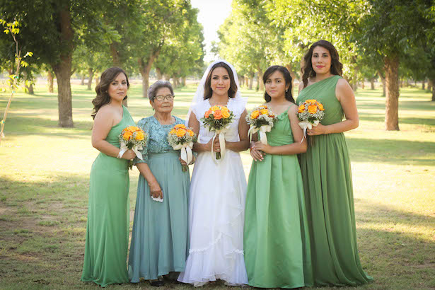 Green bridesmaid dresses - Priscilla Concepcion Photography