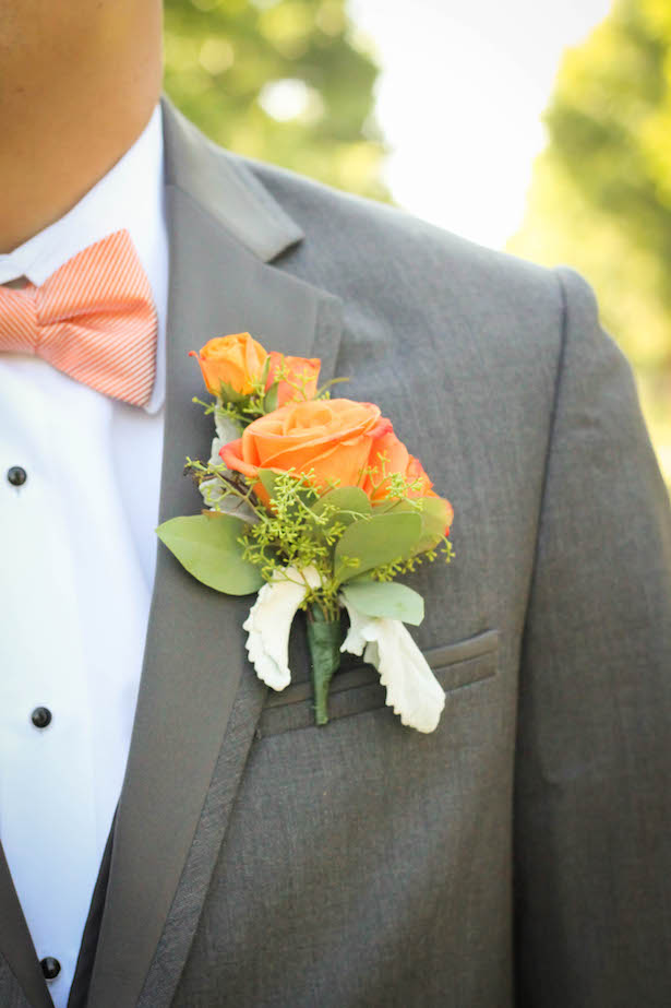 Groom boutonniere - Priscilla Concepcion Photography