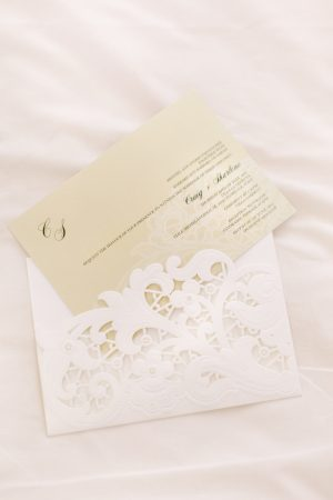 Lace Wedding Invitation - Facibeni Fotografia