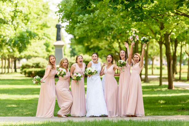 Long bridesmaid dresses - Katie Whitcomb Photographers