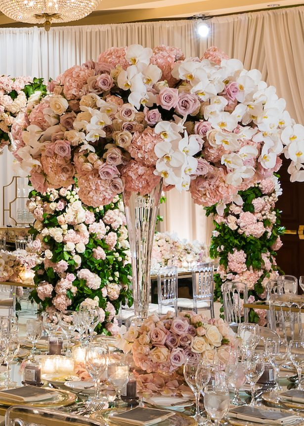 Best wedding centerpieces of 2017 bridalpulse luxury wedding centerpiece lin and jirsa photography junglespirit Images