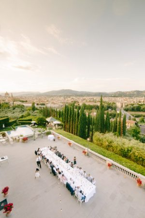 Outdoor wedding reception - Facibeni Fotografia