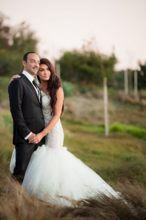 Outdoor wedding picture - Lin And Jirsa Photography