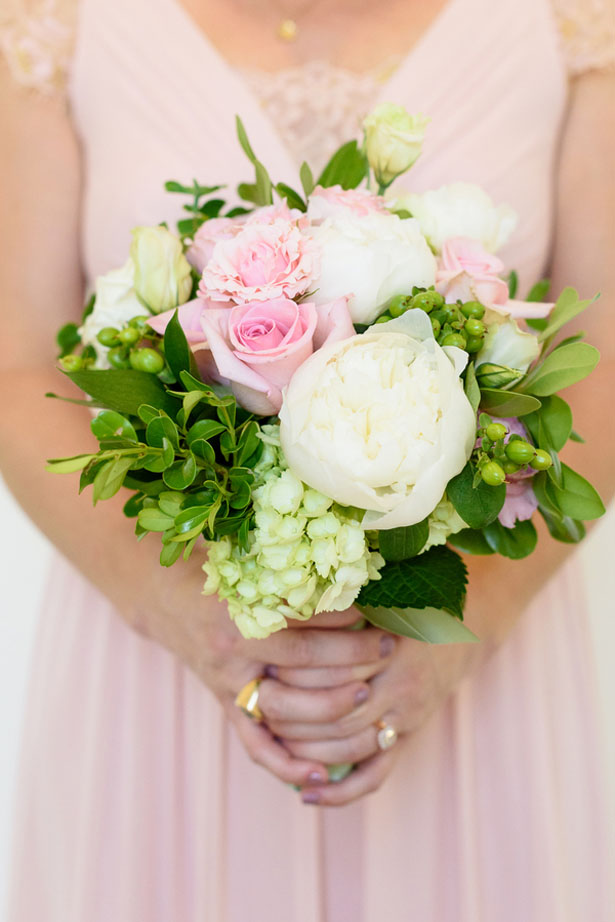 Pink bridesmaid bouquet - Katie Whitcomb Photographers